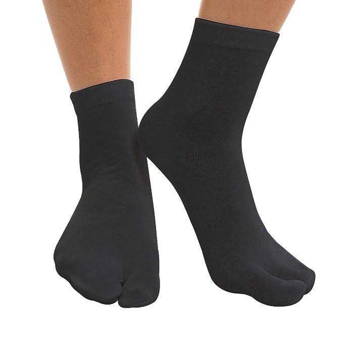 Evaliana Men Japanese Kimono Flip Flop Sandal Split Toe Tabi ...