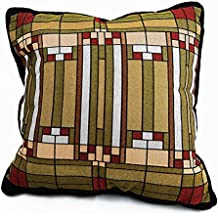 Frank Lloyd Wright Oak Park Home & Studio Skylight Throw Pillow