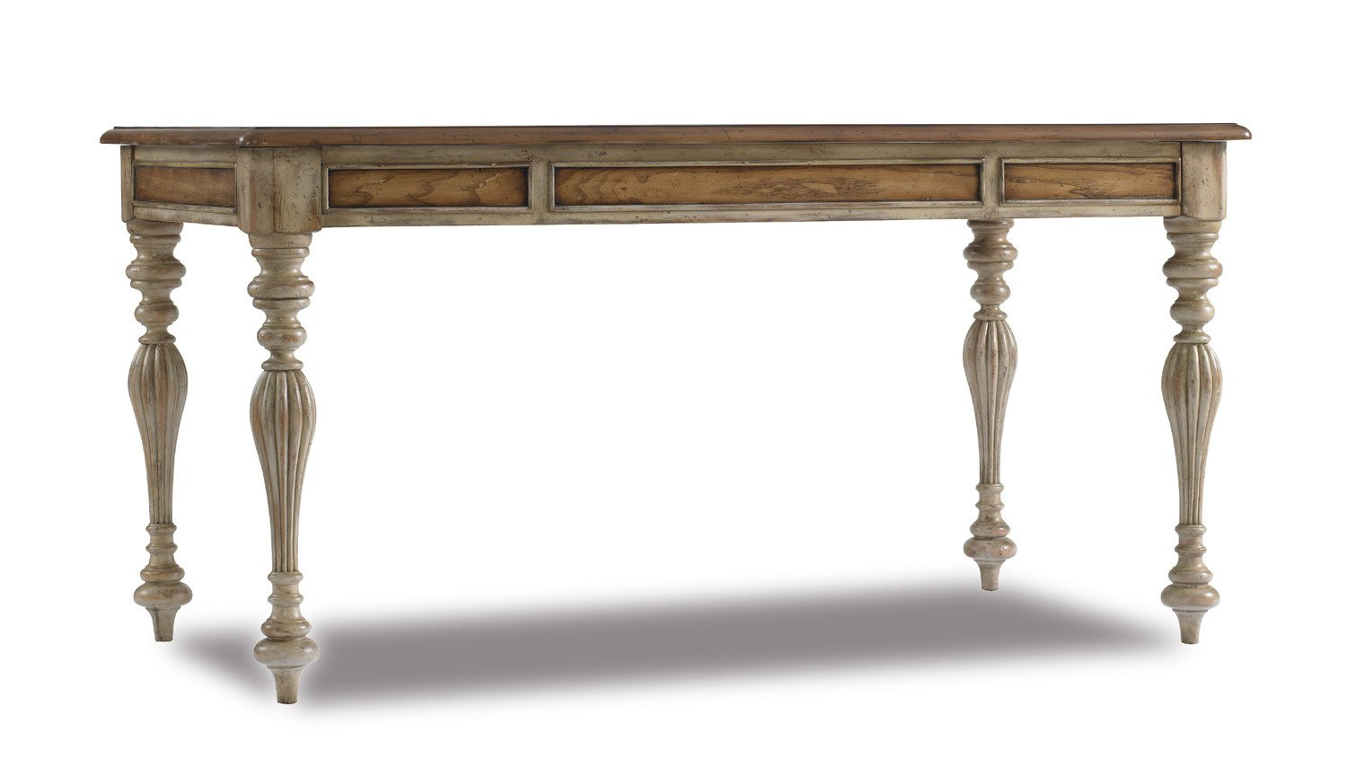 Amazon.com: Hooker Furniture Sanctuary 60 Inch Writing Desk In Dune And  Beach: Kitchen U0026 Dining