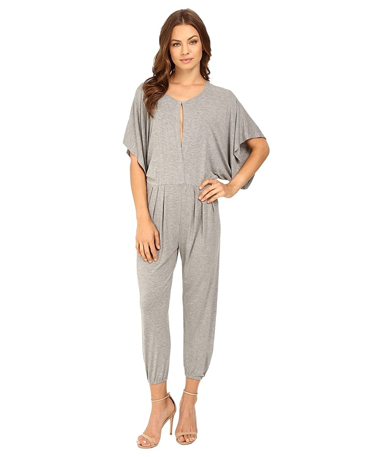 c6498fbeb Mobisi Womens Short Ruffle Sleeve Cotton Pajamas Button Front Two ...