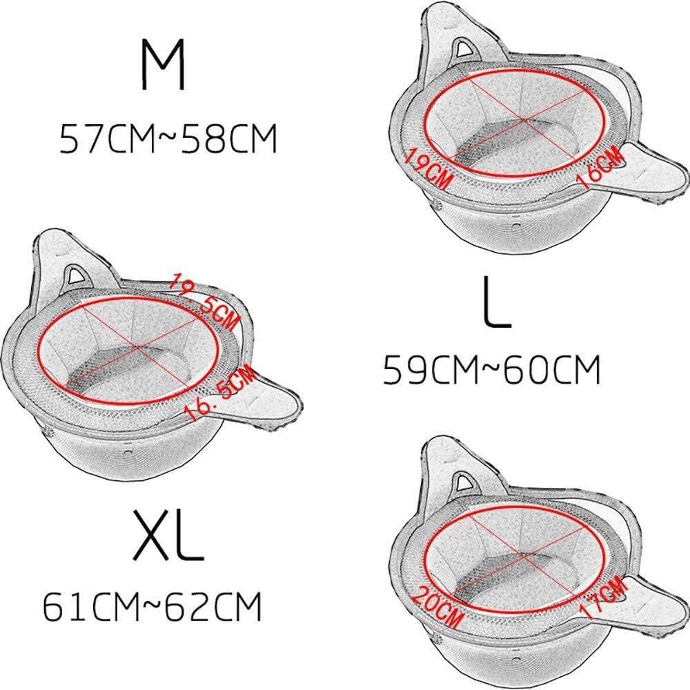 AEDFD Motorradhelm Mit Halber /Öffnung ECE-DOT-Zertifizierung Motorrad-Kollisionsschutzhelm Mit Schutzbrille Einstellbare Gr/ö/ße Chopper Moped Roller,M