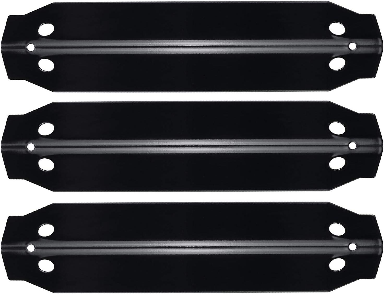 HisencnGrillHeatPlatesReplacementfor for Dyna-Glo Burner Open Cart Propane DGC310CNP-D, DGC310RNP-D, DGC310BNP-D, PorcelainSteelHeatShieldTent Parts, 3 Pack
