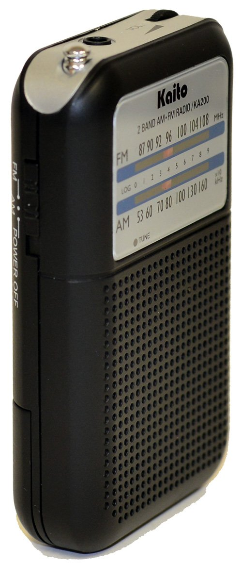 Kaito KA200 Pocket AM/FM Radio
