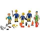 Simba 109251034 - Feuerwehrmann Sam Spielfiguren 5er Set