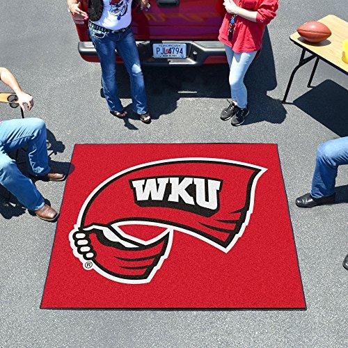 FANMATS NCAA Western Kentucky University Hilltoppers  Nylon Face Tailgater Rug