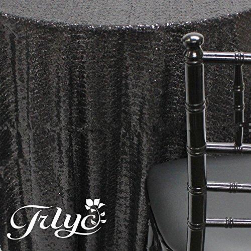 TRLYC 72 Sequin Wedding Black