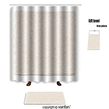 Vanfan Bath Sets With Polyester Rugs And Shower Curtain Japanese Paper 83335471 Curtains Bathroom