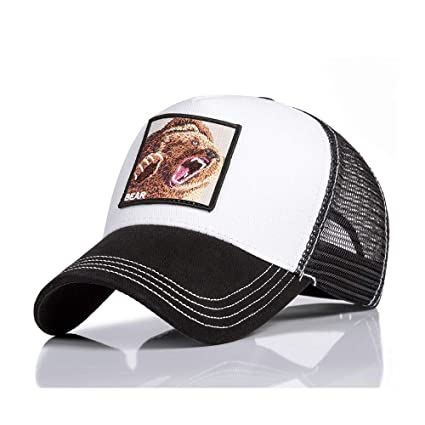 HANOB Sombrero Gorras Animales Bordado Hombres Mujeres Gorra De Béisbol Sombrero De Papá Transpirable De Verano