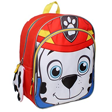d7a64afaba Image Unavailable. Image not available for. Color  Nickelodeon Paw Patrol  Marshall Flipeez Toddler Backpack