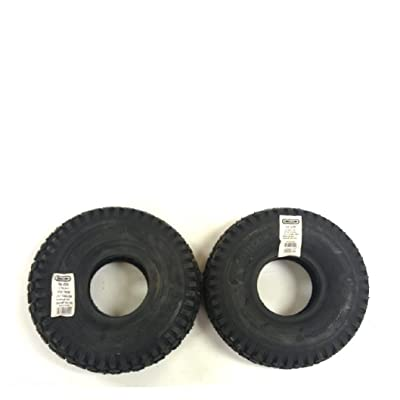 Oregon 58-020 Pack of 2 Go Kart Stud Tires, 2 Ply - 4.10 x 3.50 x 4 : Garden & Outdoor