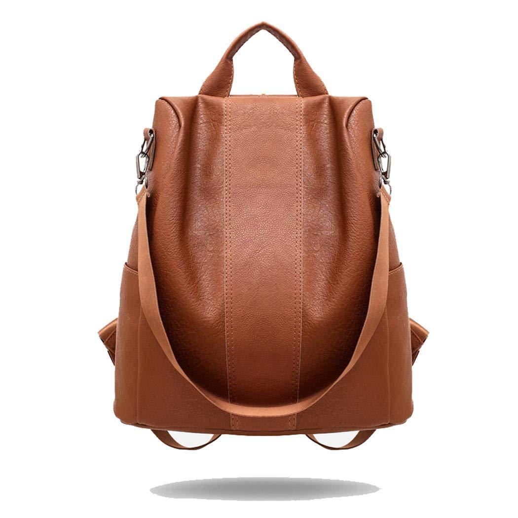 fasetry Sac /à dos /à bandouli/ère en cuir grande capacit/é pour femme Sacs /à dos loisir