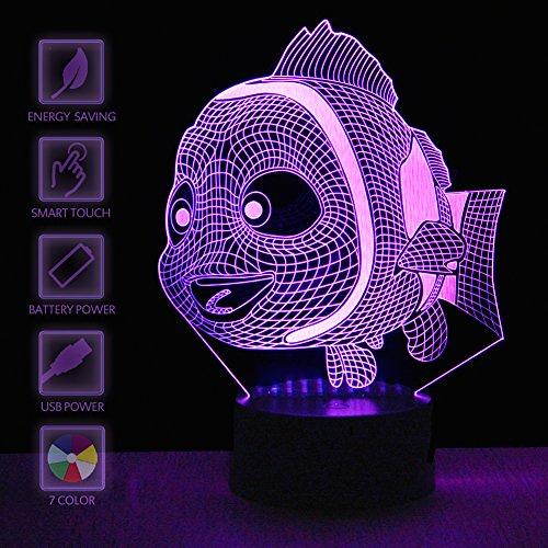 Finding Nemo Led Night Light