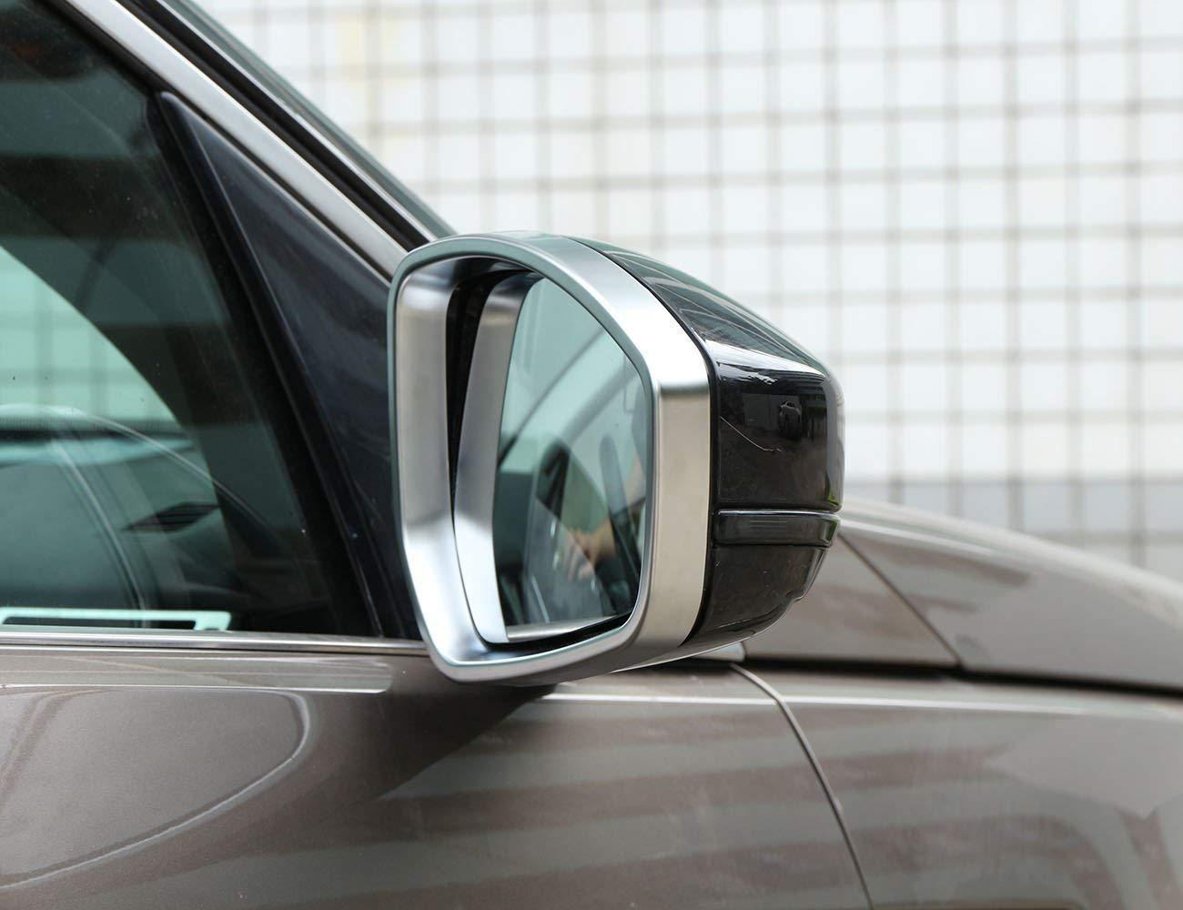 F-Pace X761 ABS Lateral Cromado Espejo retrovisor Marco Cubierta Accesorios para Evoque 2014-2017