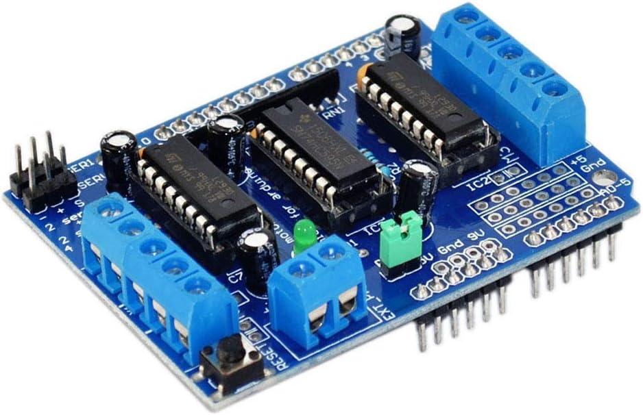 Hiletgo L293D Dc Motor Drive Shield Stepper Motor Drive Shield Expansion Board für Arduino Duemilanove Raspberry Pi