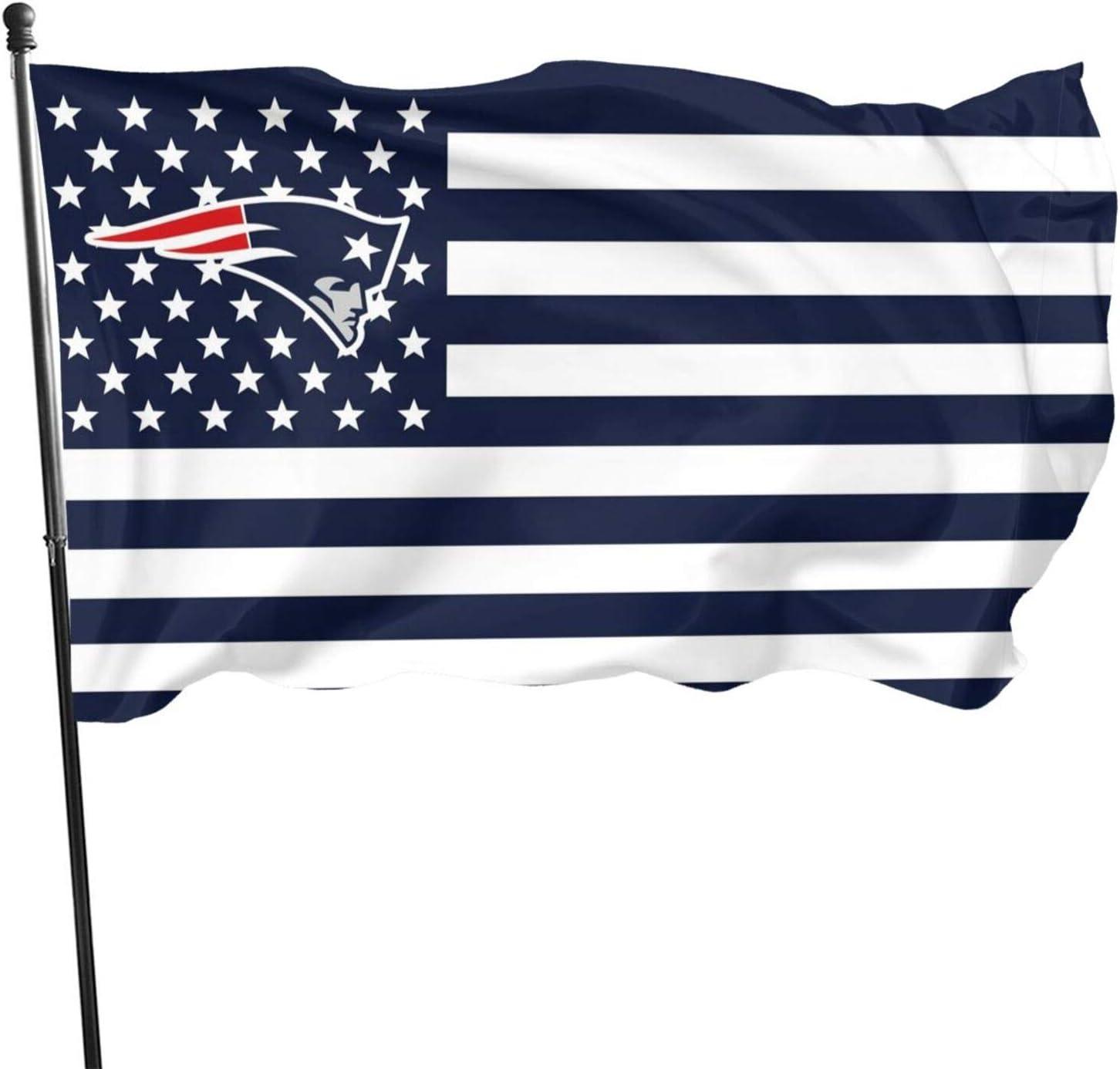 Stockdale New England Patriots Flag Garden Decoration Champion Flag 3x5 Ft