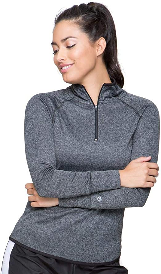 Colosseum Active Women's Bailey Rounded Bottom Fourway Stretch 1/4 Zip