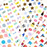 Colourful Hand Accounts Pastes Paper Stickers (Water Drop)