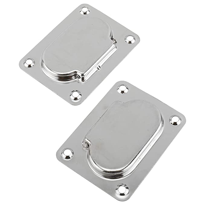HYDDNice 3 x 2-3//16 Rectangular Recessed Hatch Flush Lift Handle Spring Loaded for Boat Hatch Stainless Steel