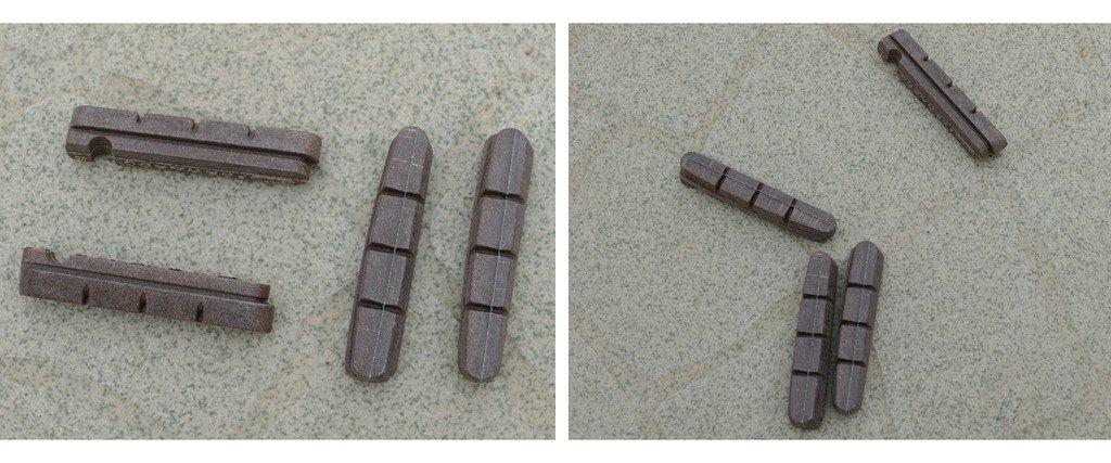 ROAD BIKE BRAKE PADS SHOES FOR Wheel RIMS SHIMANO Dura Ace Ultegra 105 10g
