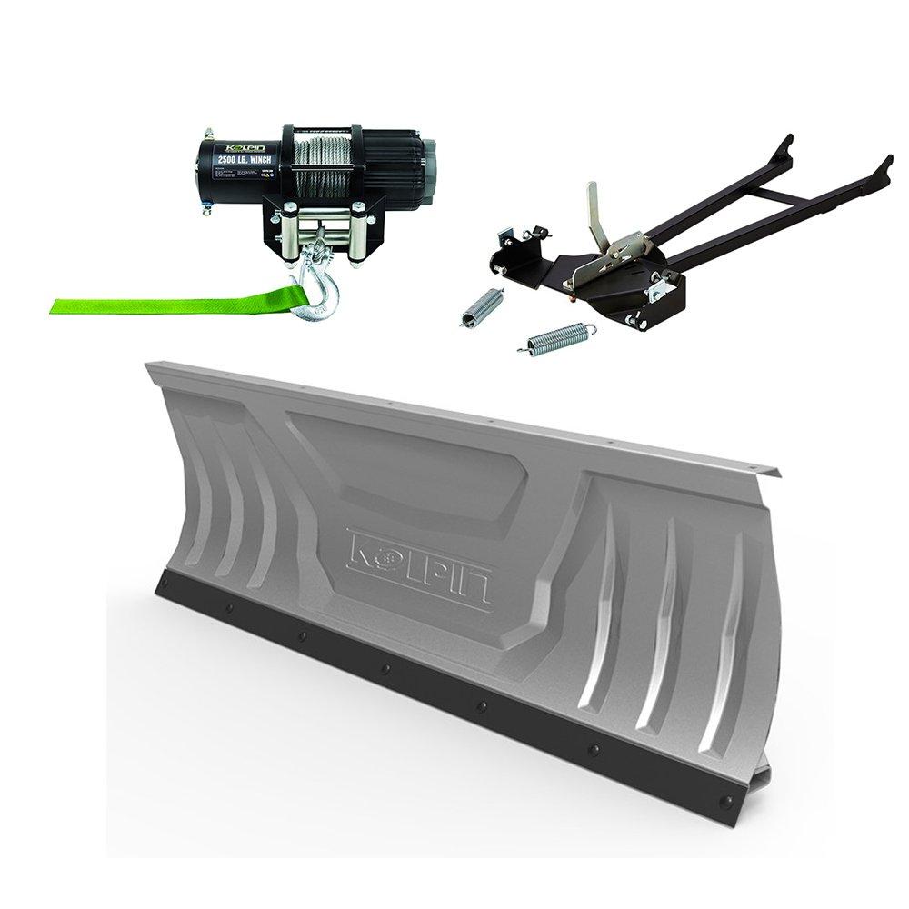 Complete Kolpin Plow & cabrestante Kit para 2014 - 2017 Polaris Sportsman 450 & 570: Amazon.es: Coche y moto