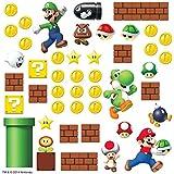 RoomMates RMK2351SCS Nintendo Super Mario Build a Scene...