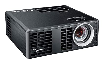 OPTOMA TECHNOLOGY ML750E - Proyector LED - 700 lúmenes, 20000 Horas Vida LED, HDMI + MHL v1.0, Universal I/O, VGA / Audio out 3.5 mm, microSD-Slot, ...
