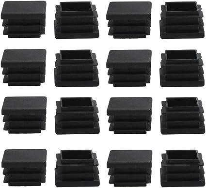 Tavoli Di Plastica Quadrati.Zchxd 16 Pezzi Di Plastica Quadrati 20 X 20 Mm A Costine Per Tubi