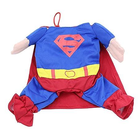 Ropa para Mascotas Mascotas Capa Superman Perro Vestir Ropa ...