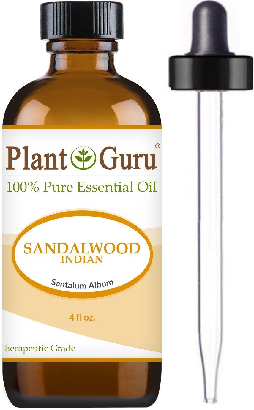 Sandalwood (East Indian Mysore) Essential Oil 4 oz. 100% Pure Undiluted Therapeutic Grade.