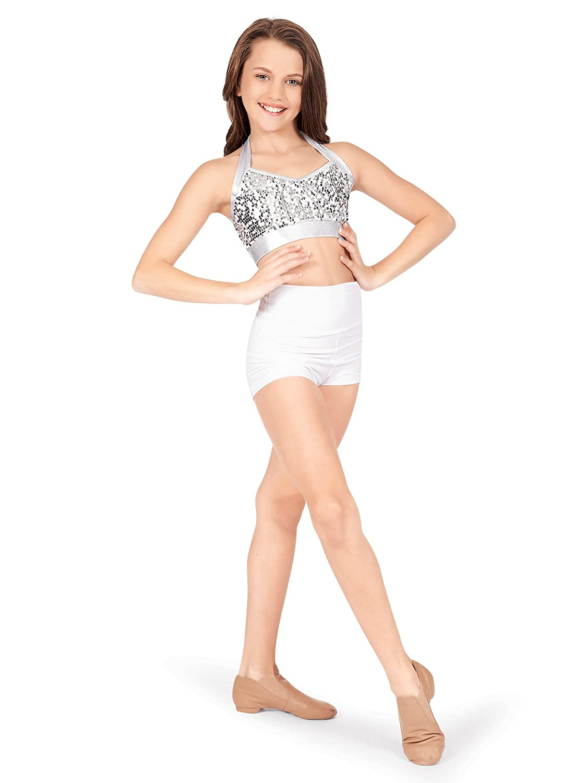 Natalie Natalie Dancewear SHORTS チタン ガールズ B07DVJCK7J B07DVJCK7J チタン Small, わくいきライフ:f80f6990 --- ijpba.info