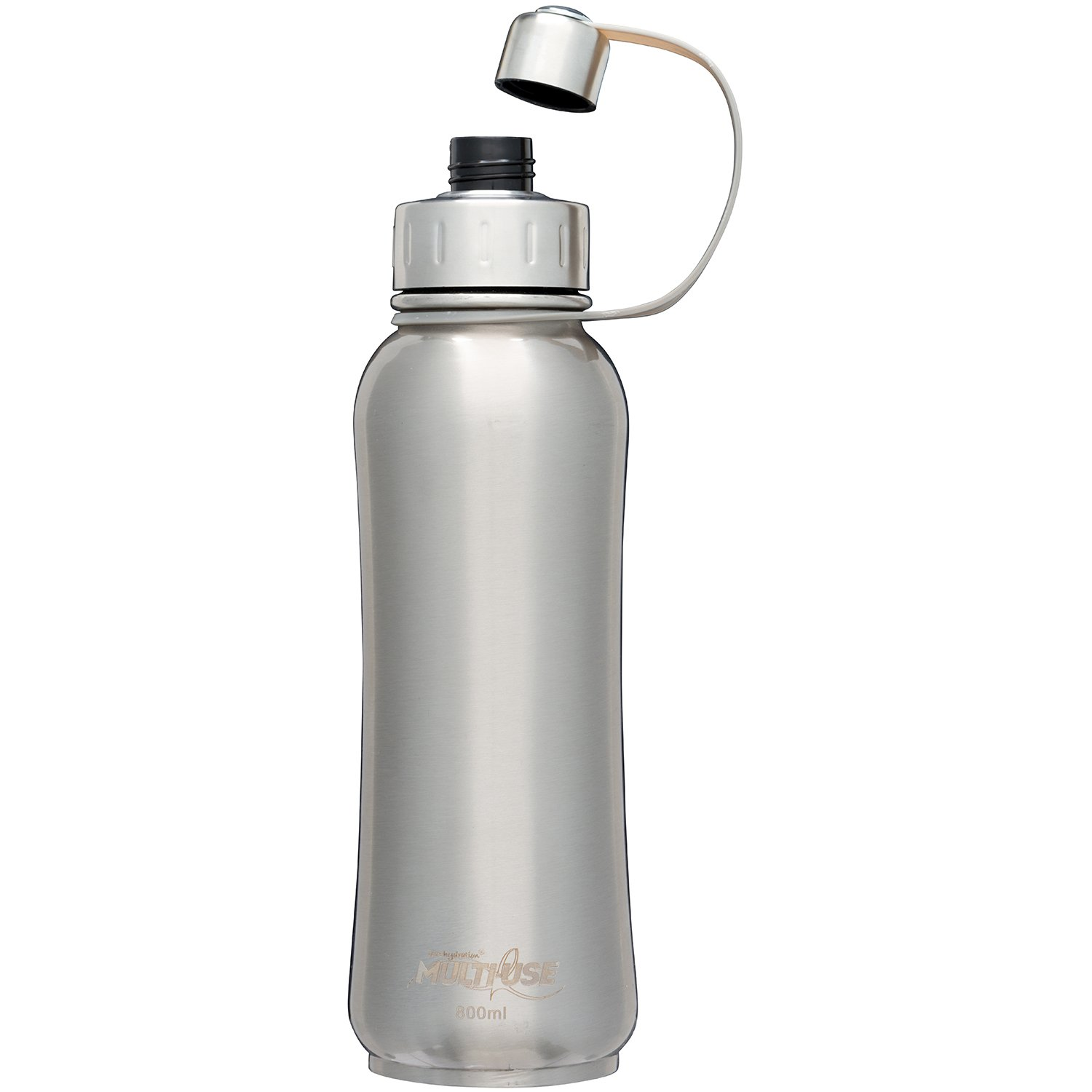 PureHydration Multi-Use Stainless Steel Tri-Ply Insulated Bottle with Infuser Basket (Whispering Wood, 800ml) by PureHydration Multi-Use (Image #2)
