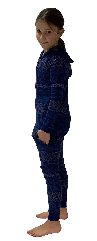 Einteiler M/ädchen in Norwegeroptik 281 467 90 418 NORMANN W/ÄSCHEFABRIK Cooler M/ädchen Jumpsuit