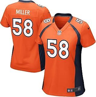 Amazon.com  NIKE Women s Medium Von Miller Denver Broncos Color Rush ... 3853774f2