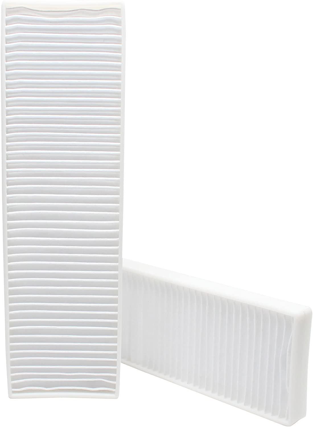 2-Pack Replacement for Bissell 21K35 Vacuum Pleated Post Motor Filter - Compatible with Bissell Style 7, 9, 16, 32076 HEPA, 82H1, 52C2, 1398, 58F83, 71Y7, 18M9X, 61C5W, 3576-6, 52C2T, 52C2W, 3863,6221