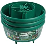 Tierra Garden vasi rotondi verdi per piante, codice prodotto: GP167G, confezione da 3