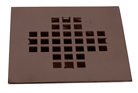 Square Shower Drain Cover.Westbrass Square Shower Drain Cover Oil Rubbed Bronze D206