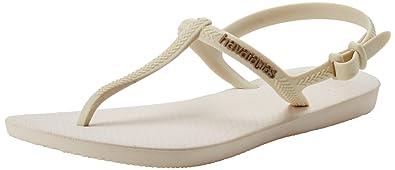d09bc5b7651a Havaianas Freedom Flip Flop Sandal Beige Rose Gold (7-8 M US Women s
