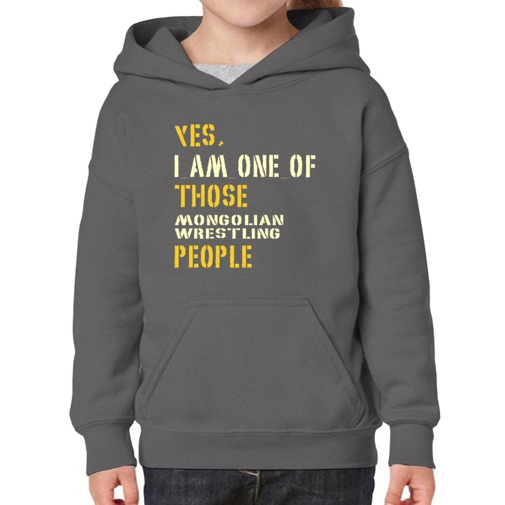 Teeburon Yes I AM One Of Those Mongolian Wrestling People Girl Hoodie