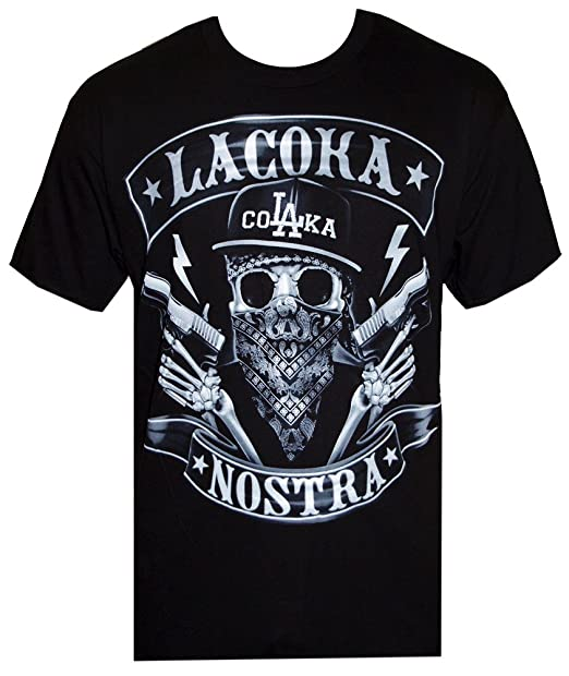 8a61429ce La Coka Nostra Colaka Airbrush Tee T Shirt T-Shirt Merchandise Merch Mens:  Amazon.ca: Clothing & Accessories