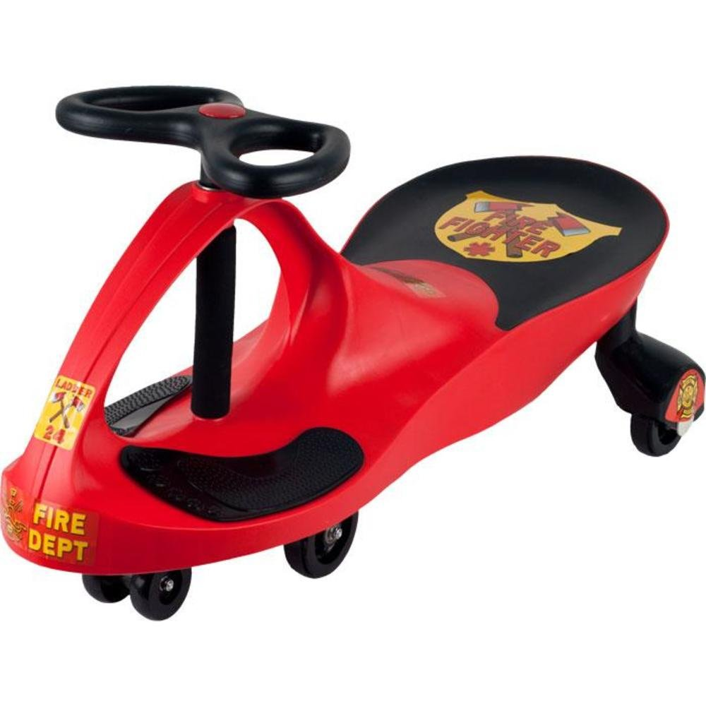 amazon com ride on toy fire truck ride on wiggle car by lil