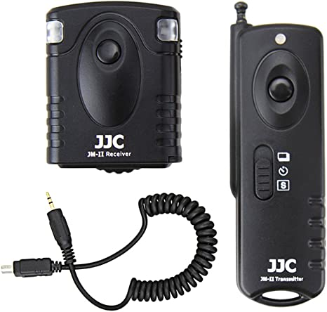 JJC Wireless Remote Control fr OLYMPUS E-PL8 E-PL7 E-P5 E-P3 E-P3 XZ-1 as RM-UC1