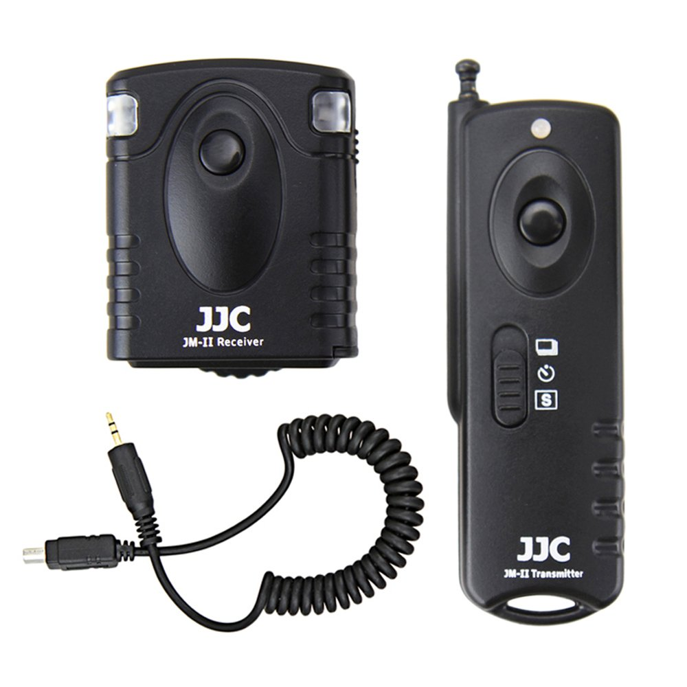 Wireless Shutter Remote Control JJC Remote Shutter Release Controller for Olympus E-M10 Mark II E-M5 II E-M1 E-PL8 E-PL7 E-PL6 E-PL3 E-PL2 E-P2 E-P3 E-P5 Replaces Olympus RM-UC1