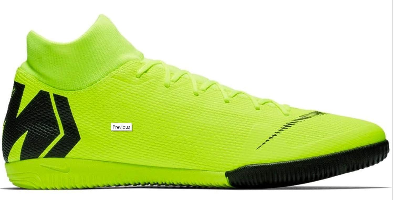 Nike Herren Mercurial Superfly VI Pro FG Fußballschuhe, Gelb (Volt schwarz 701), 40 EU