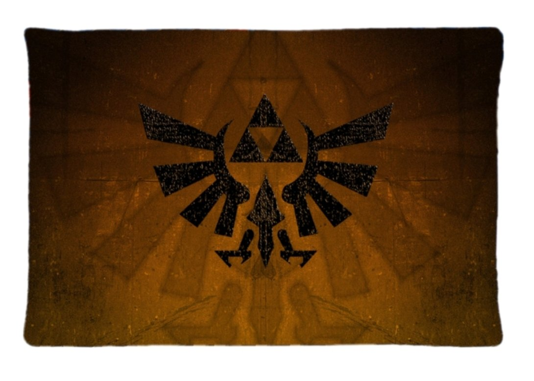 Funda de almohada de regalo Surful ~ Trifuerza tatuaje ~ imagen ...