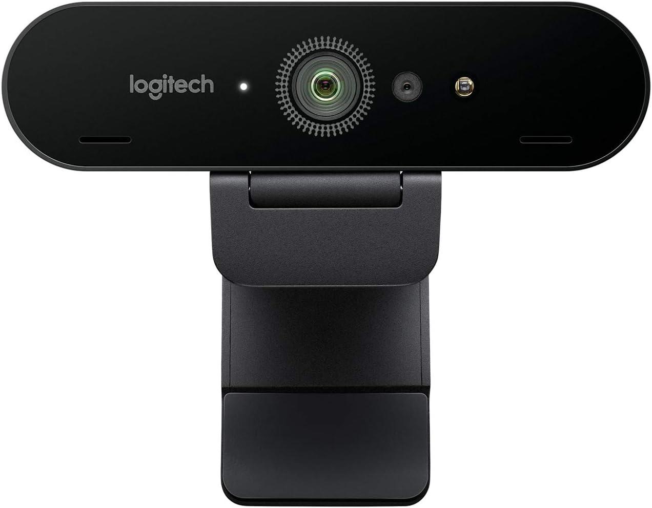 Logitech Brio Ultra HD Pro Webcam, Streaming Fluido 1080p/60fps