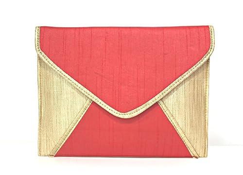 f8a087571 Bolso sobre rojo y dorado: Amazon.es: Zapatos y complementos