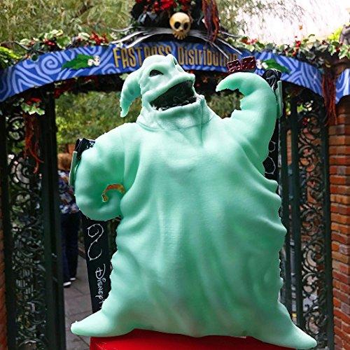 Bucket Boogie (2017 Disney Parks Nightmare Before Christmas Oogie Boogie Glow In The Dark Popcorn Bucket)