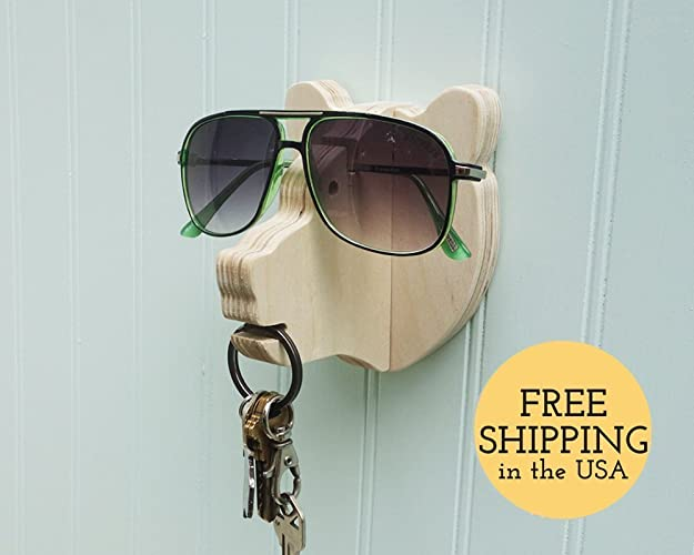 Amazon Bear Head Wall Hanger For Keys Glasses Next To Door