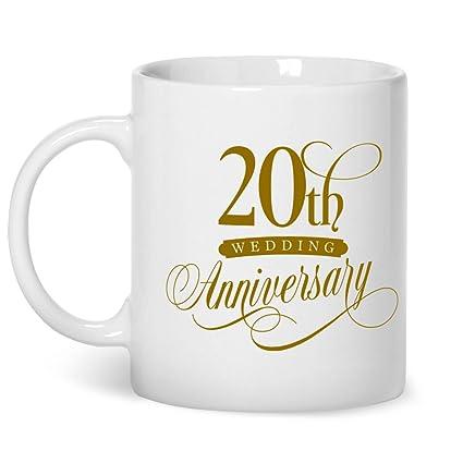 amazon com 20th wedding anniversary platinum wedding gifts 20th