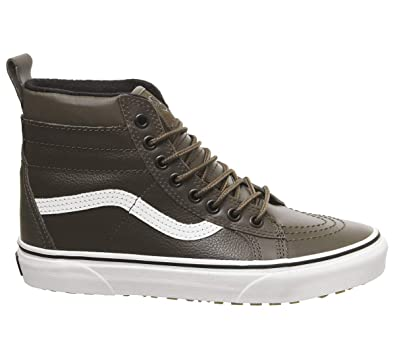cf1d14b78f Vans Men s Sk8-Hi MTE Leather Skate Shoe (8 M US